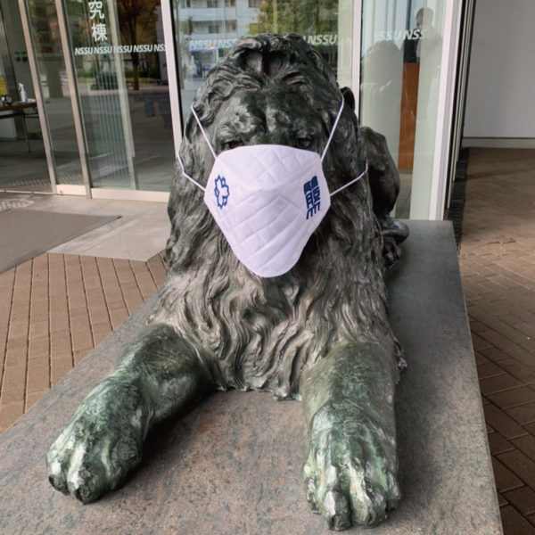 【Yahoo!ニュース掲載】日本体育大学「ライオン像」にマスクを製作いたしました。