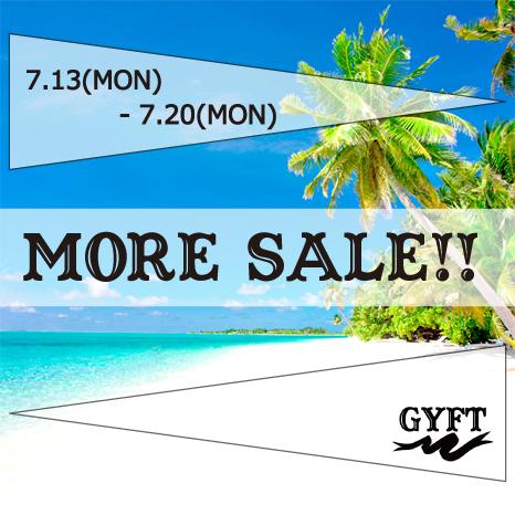 GYFT MORE SALE!!! 7.13(MON)-7.20(MON)