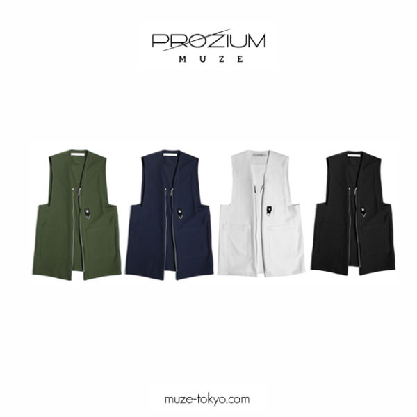 NEW ARRIVAL / MUZE 2015A/W Collection 【PROZIUM】 『BAG VEST』