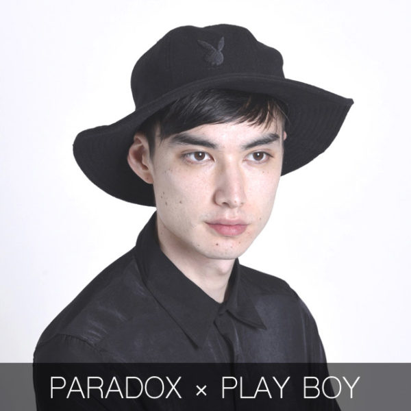 NEW ARRIVAL / 【PARADOX】×【PLAYBOY】 HUNTING HAT