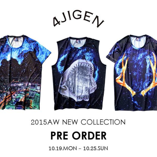 "H>FRACTAL【4jigeN】 2015AW COLLECTION ""PRE ORDER"""