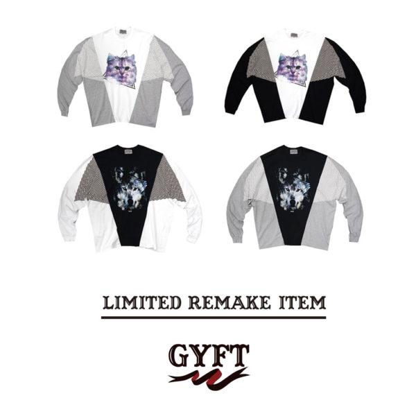 GYFT再入荷情報!!【THE TEST】リメイクロングスリーブ Tシャツ