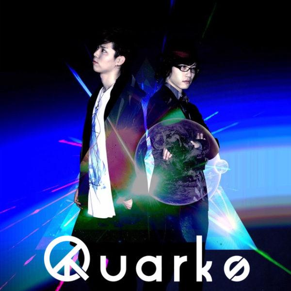 """""""kradness""""×""""Camellia"""" 新ユニット """"Quarks"""" のアーティストロゴのデザインを弊社デザインチームが製作致しました。"""