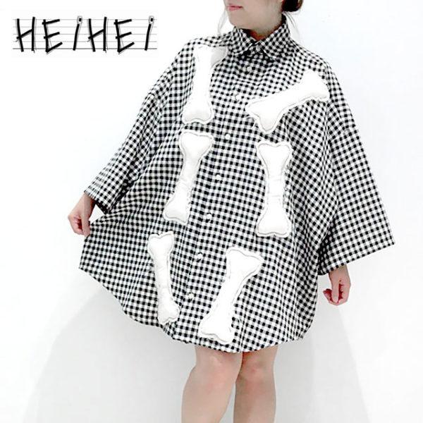 GYFT新入荷情報【HEIHEI】ギンガムチェックBIGシャツ