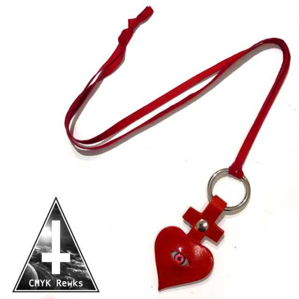 【CMYK Rewks】juju-eye NECKLACE(heart)
