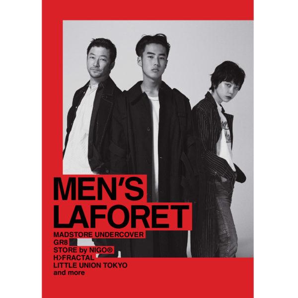 ラフォーレ原宿新キャンペーンヴィジュアル「MEN'S LAFORET」にH>FRACTALが起用されました。