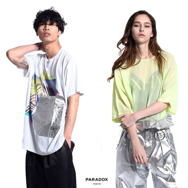 PARADOX 2017SS NEW ARRIVAL『BIG TEE』『SEE THROUGH TEE』『SEE THROUGH FABRIC』