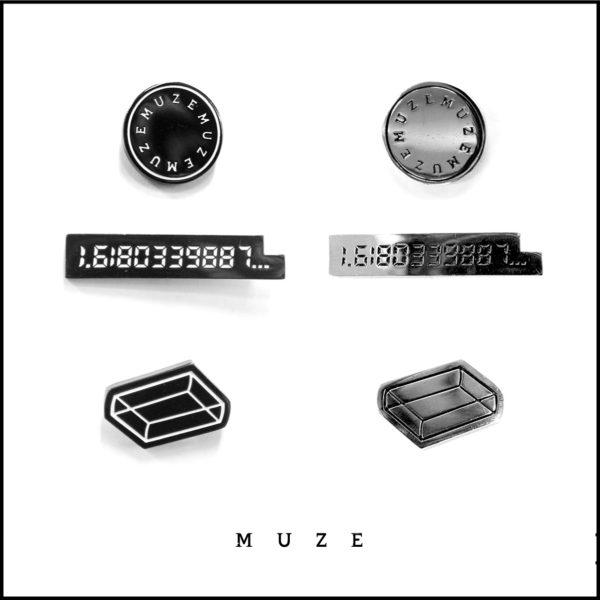 8/24(Thu):【MUZE】 ICON PINS 3SET&SENSU