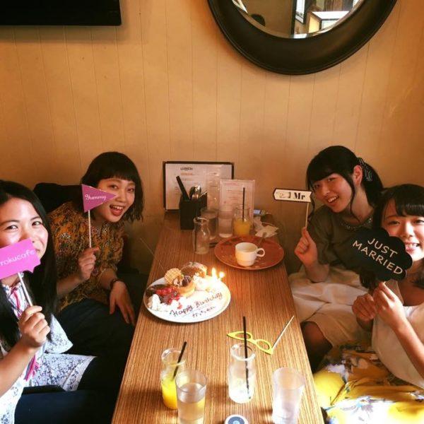 ☆記念日のお祝いはrokucafe ☆