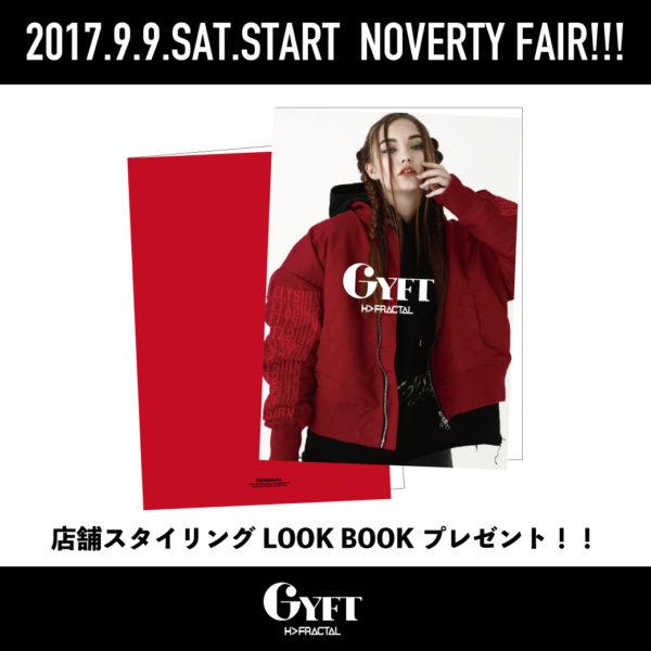 "2017.9.9.SAT START 2017-18AW IMAGE LOOK"" NOVELTY FAIR"