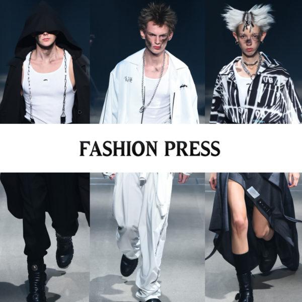 """""""FASHION PRESS""""にMUZE 2018春夏コレクションが掲載されました。"""