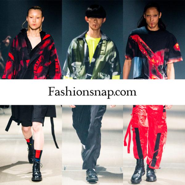 """Fashionsnap.com""にPARADOX2018春夏コレクションが掲載されました。"