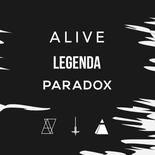 【PARADOX × LEGENDA × ALIVE 】 BLACK MASONARY