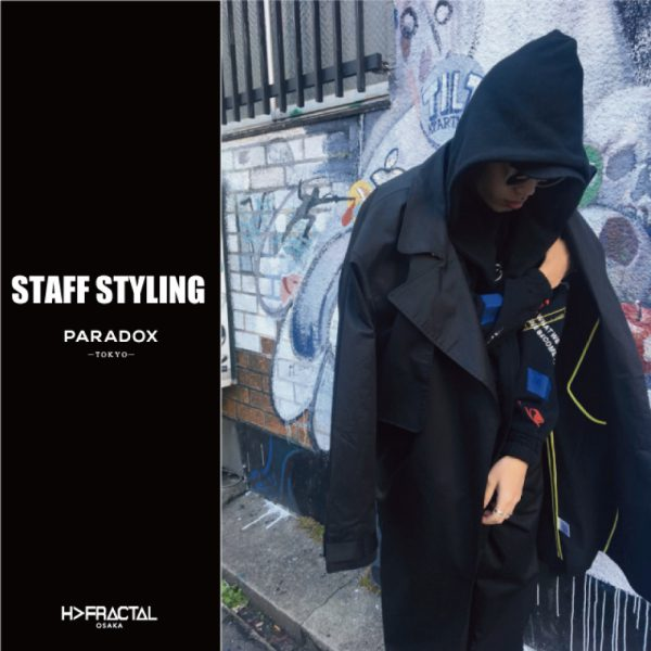STAFF STYLING【PARADOX】18SS COLLECTION/LIGHT TRENCH COAT