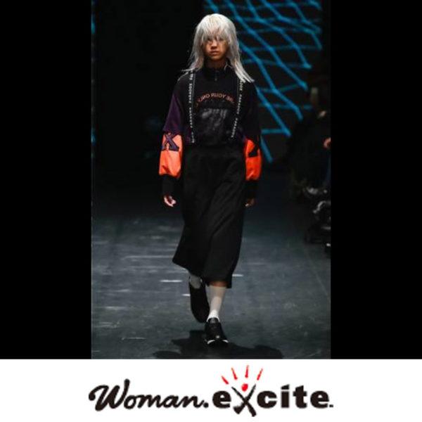 """WOMAN EXITE"" PARADOX TOKYO 2018-19 秋冬コレクション掲載"