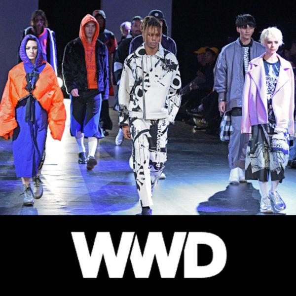 """WWD.com"" PARADOX TOKYO 2018-19年秋冬コレクション 掲載"