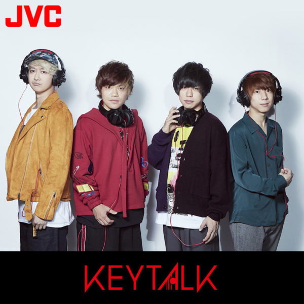"""""""PARADOX TOKYO""""衣装提供 """"KEY TALK""""JVCヘッドフォンとキートークのコラボ 企画"""
