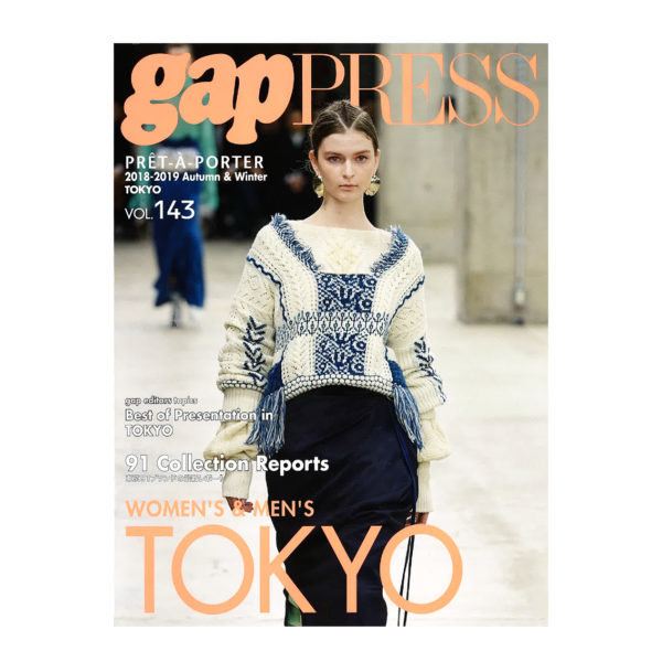 """""""gap PRESS"""" vol.143 """"MUZE""""""""PARADOX""""掲載"""