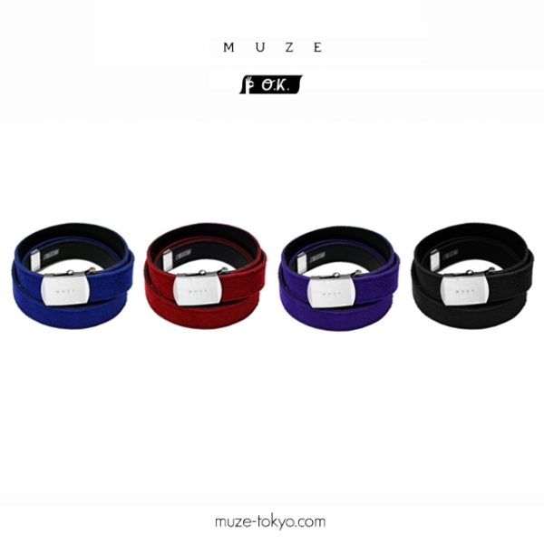 NEW ARRIVAL【MUZE×O.K.】SUEDE LONG BELT