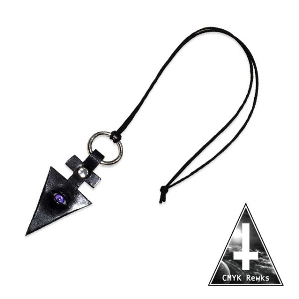 【CMYK Rewks】juju-eye NECKLACE(VIOLET)
