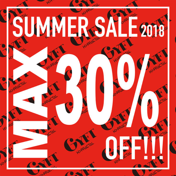【ONLINE SHOP SUMMER SALE】2018.07.09 MON 20:00 – START!!!