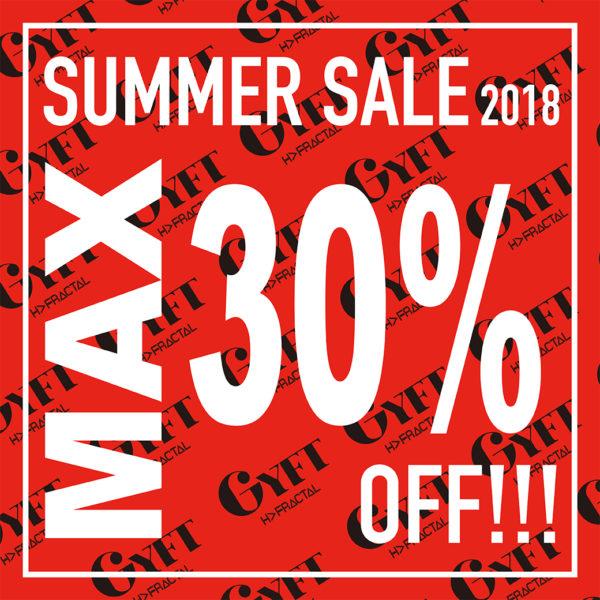 【ONLINE SHOP SUMMER SALE】2018.07.09 MON 20:00 – START!!!