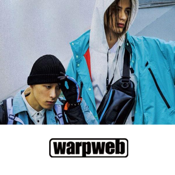 """warpwab"" 【MUZE x beruf baggage】 コラボレーションアイテム 掲載"