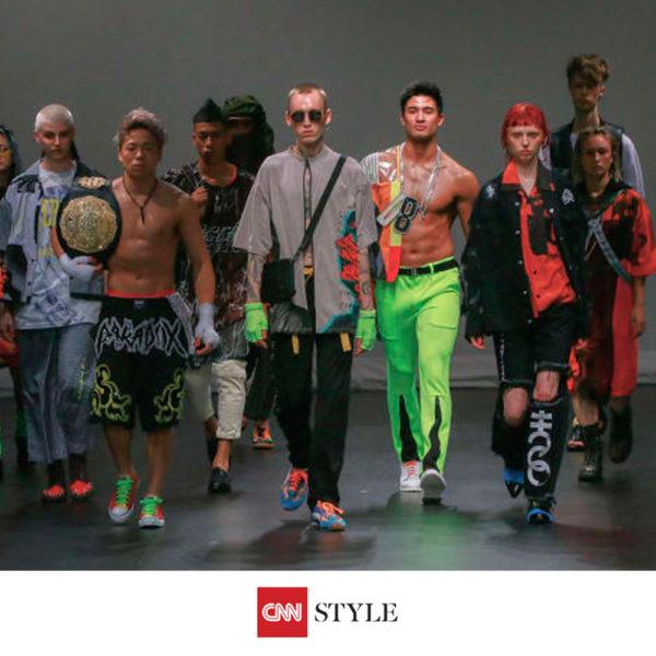 """""""CNN style"""" PARADOX TOKYO 2019春夏コレクション掲載"""