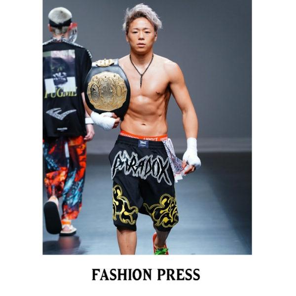 """""""FASHION PRESS"""" PARADOX TOKYO 2019春夏コレクション掲載"""