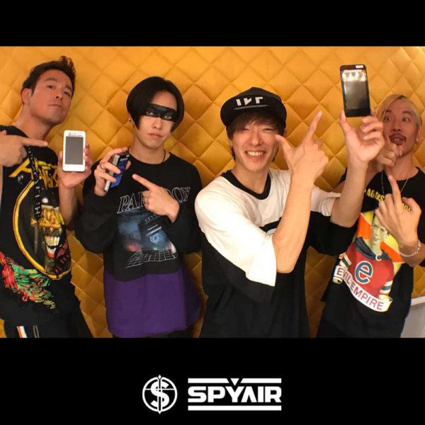 """PARADOX TOKYO"" 着用 ""SPYAIR"""
