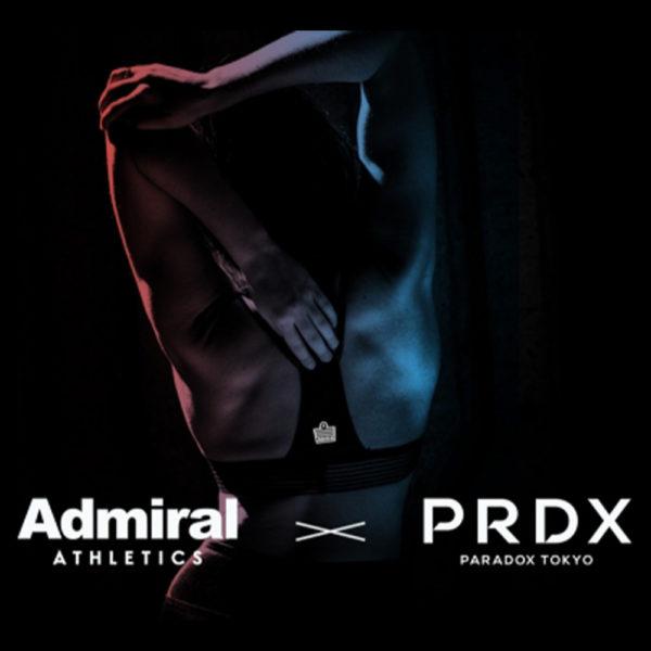 「PRDX-PARADOX TOKYO-」× Admiralの新ライン「Admiral ATHLETICS」とのコラボムービー発表
