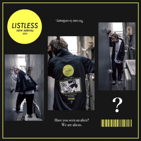 2019.03.03.SUN IN STORE!!!【LISTLESS】4th collection