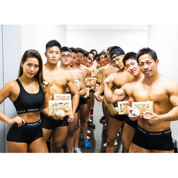 """excite ニュース""掲載 日本体育大学バーベルクラブの皆様にスーパー大麦使用のメニューを提供しました。"