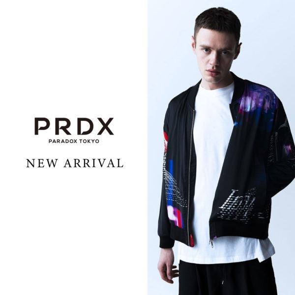 NEW ARRIVAL【PARADOX】GRAPHIC MA-1