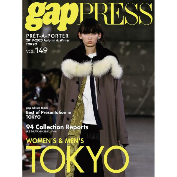 """""""2019-20 A/W gap PRESS vol.149 TOKYO"""" 掲載 """"MUZE"""" """"PRDX PARADOX TOKYO"""""""