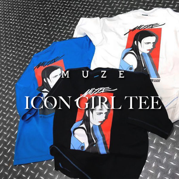 【MUZE】ICON GIRL TEE
