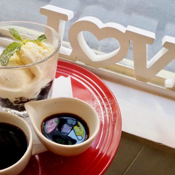☆コーヒーゼリーアッフォガート~コーヒーリキュール添え~☆