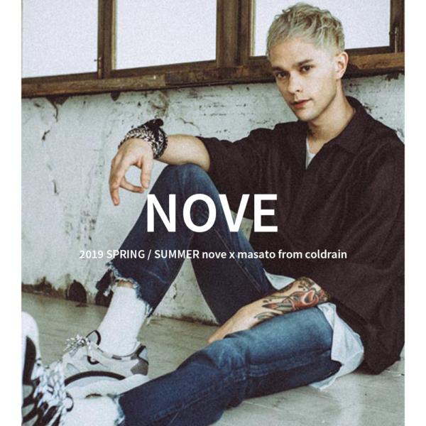 """MUZE"" 衣装提供 "" Coldrain Masato / NOVE 19SS LOOK BOOK"""