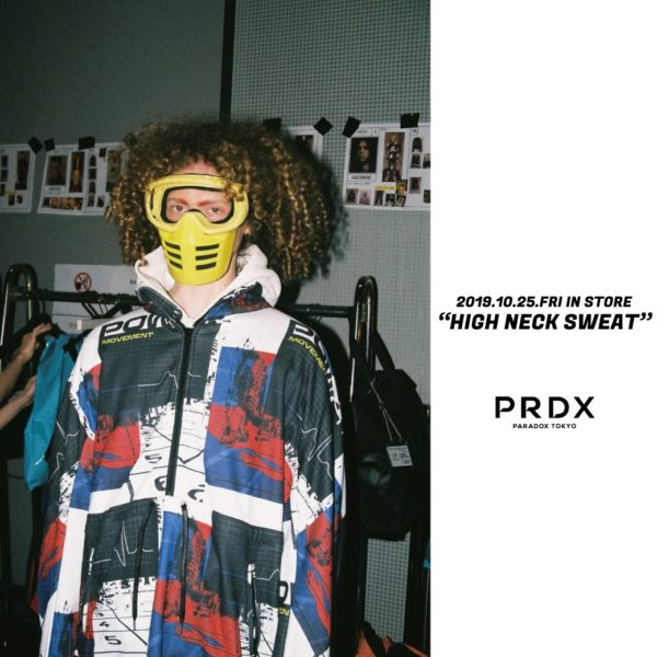 【NEW ARRIVAL】PRDX – HIGH NECK SWEAT