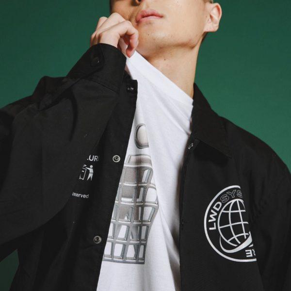 """【NEW ARRIVAL】LILWHITEDOT – """"TM"""" COACH JKT"""