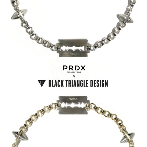 【NEW ARRIVAL】PARADOX×BLACK TRIANGLE DESIGN-SPIKE & industrial chain razor necklace