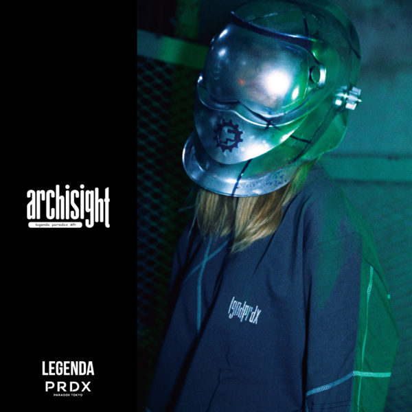 "【NEW ARRIVAL】LEGENDA® × PRDX ""archisight"" CPCY PULL PARKA"