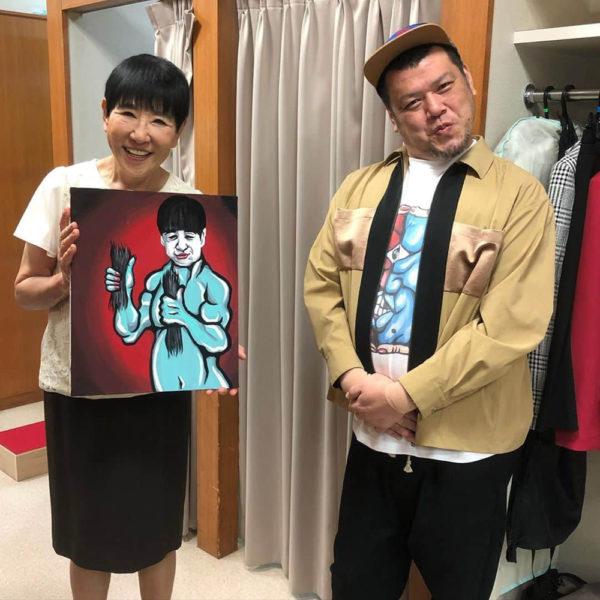 """""""MUZE"""" 衣装提供 """"野性爆弾 くっきー!さん"""" TBS系列「アッコにおまかせ!」9月20日(日)放送分"""