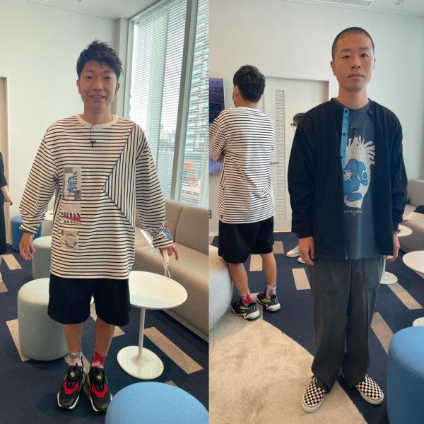 """MUZE"", ""PRDX PARADOX TOKYO"" 衣装提供 ""アキナの山名様・秋山様"" MBS系 「せやねん!」 8月7日(土)放送分"